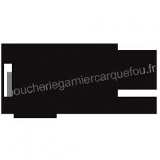 Maison Garnier - 44 CARQUEFOU - Silhouette porc